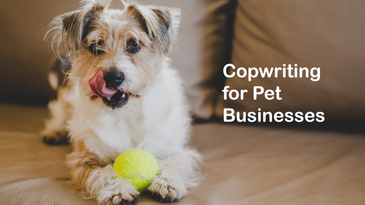 Copywriting for pet businesses